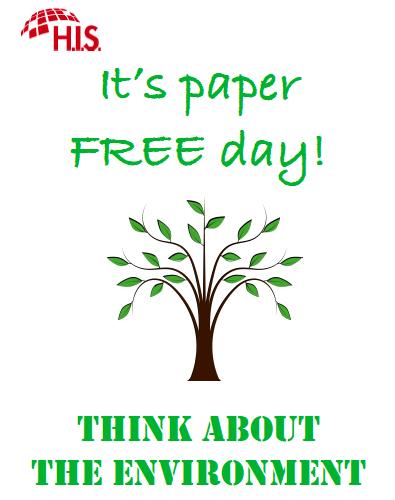 Environment week paper free day heidelberg international school - Tell tree dying order save ...