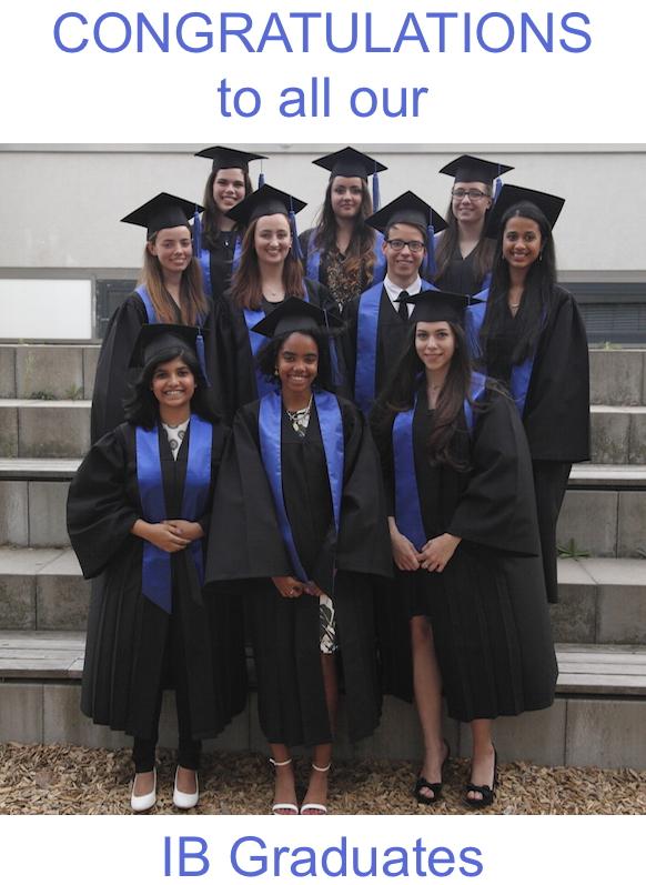 Congrats IB Graduates